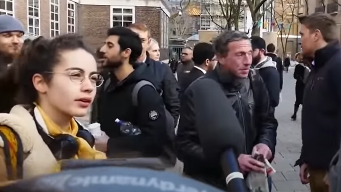 Watch This America Hating Student Get Schooled...