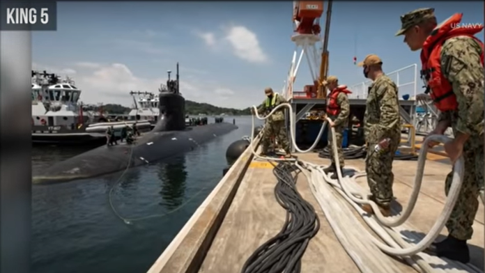 Must See: US Navy Submarine Strikes MYSTERIOUS Object in Waters Next to China...