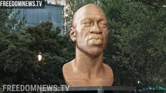 NYC Demands Removal of Two Statues of US Presidents, Unveils New George Floyd Statue