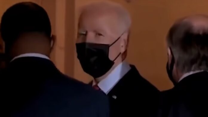 Watch Biden Snap at Another Reporter...